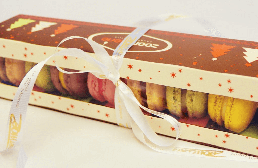 Zoomserie Macarons